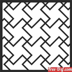 download DECORATIVE PATTERN   DECORATIVE   Wall   Screen  Wall door free ready for cut