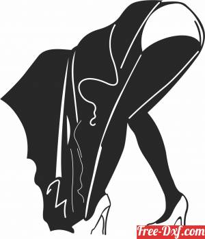 download sexy woman clipart free ready for cut