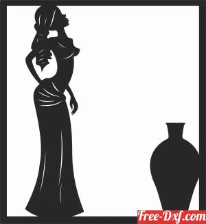 download African women clipart free ready for cut