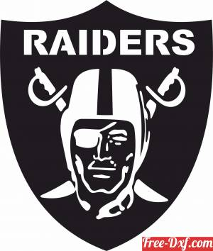 download Oakland Raiders logo NFL free ready for cut