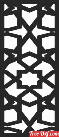 download pattern  DECORATIVE   Wall  Screen  DECORATIVE pattern Wall free ready for cut