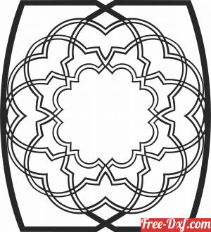 download wall decor pattern cliparts free ready for cut