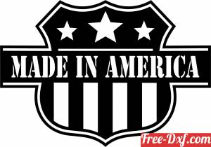 download made in america sign free ready for cut