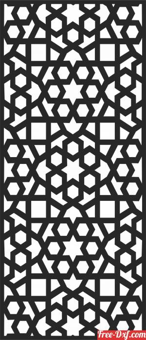 download Wall  DECORATIVE   pattern Wall  Screen free ready for cut