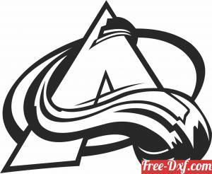 download Colorado Avalanche ice hockey NHL team logo free ready for cut