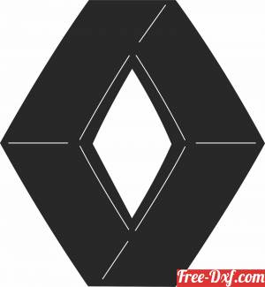 download Renault Logo free ready for cut