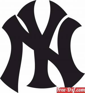 download New York Yankees NY free ready for cut