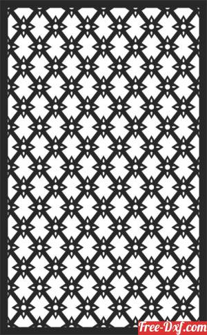 download panel decorative pattern wall screen free ready for cut