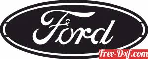 download Ford Wall logo sign free ready for cut