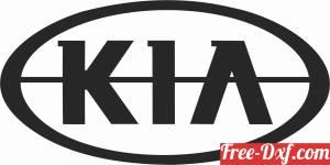 download KIA Logo free ready for cut