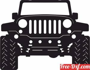 download Jeep Front free ready for cut