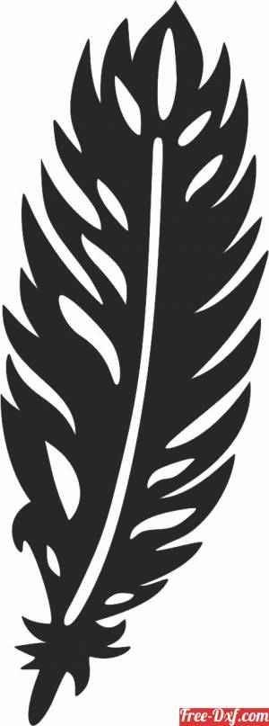 download Feather decor sign free ready for cut
