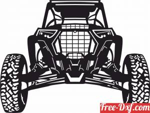download car buggy Vehicle free ready for cut