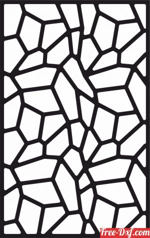 download decorative panel wall screen partition pattern free ready for cut