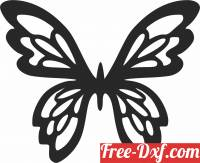download Butterfly clipart free ready for cut