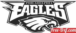 download Philadelphia eagles logo NFL American football team free ready for cut