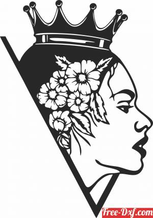 download Queen arts wall decor free ready for cut