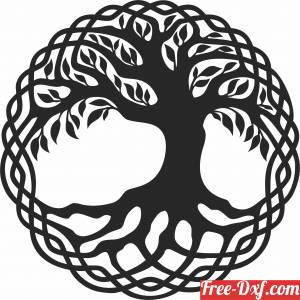 download tree of life wall decor free ready for cut