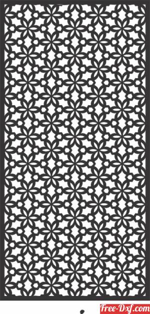 download decorative panels for doors wall screen pattern free ready for cut
