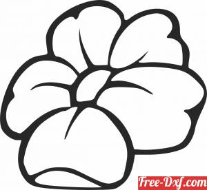 download Floral flowers clipart free ready for cut
