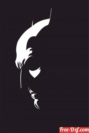 download batman wall decor free ready for cut