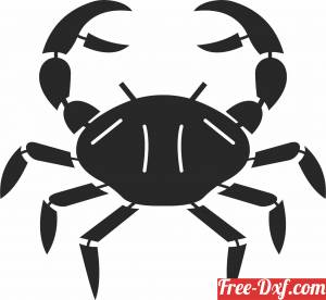 download Crab Fish clipart free ready for cut