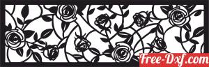 download floral panel tree free ready for cut