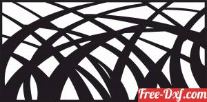 download tree branches decorative wall screen door partition panel pattern free ready for cut