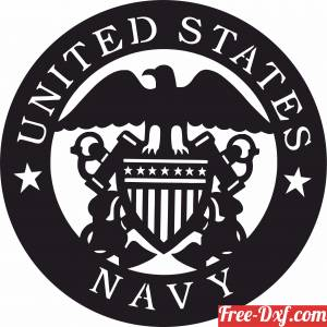 download United states Navy army logo free ready for cut