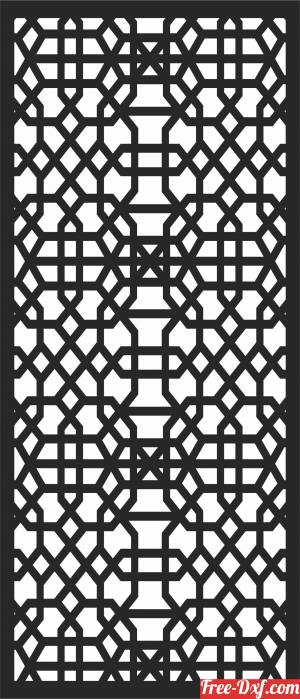 download wall  Decorative   door  SCREEN pattern  Screen wall free ready for cut