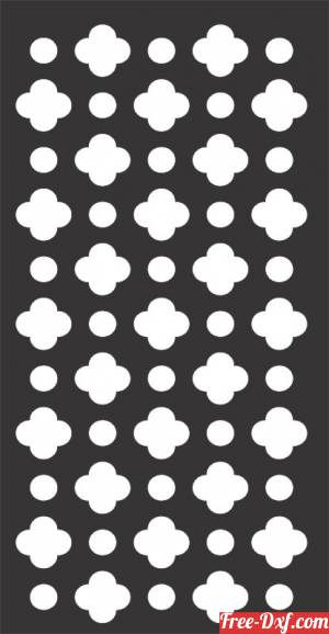 download decorative wall screen panel pattern door free ready for cut