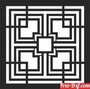 download Screen DOOR   decorative   door  SCREEN door free ready for cut