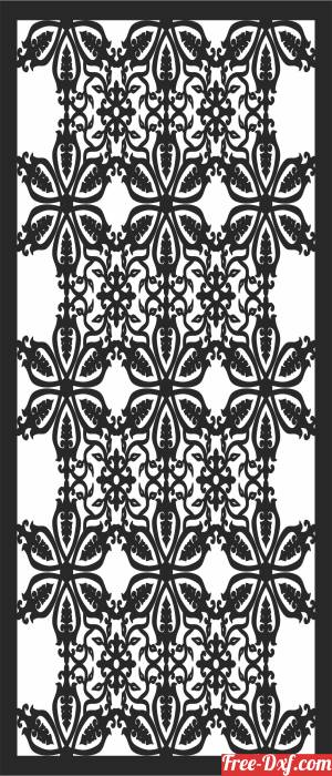download DECORATIVE  door WALL free ready for cut