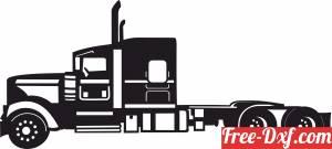 download Semi Truck auto free ready for cut
