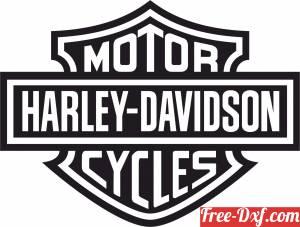 download Harley Davidson Motor Company Logo free ready for cut