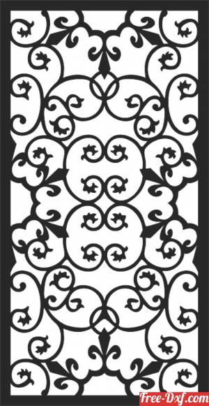 download Cool Decorative Screens Panel for doors or windows free ready for cut