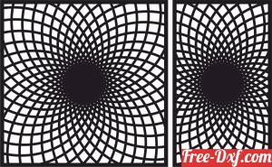 download decorative 3d panel wall screen pattern free ready for cut