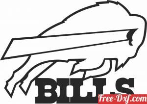 download buffalo bills American football team logo free ready for cut
