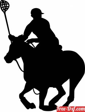 download polocrosse wall sign clipart free ready for cut