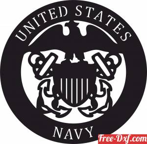 download United states navy logo free ready for cut