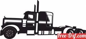 download Semi Truck Heavy auto free ready for cut