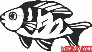 download fish silhouette clipart free ready for cut