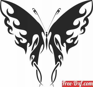 download Butterfly arts free ready for cut