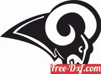 download los angeles rams Nfl  American football free ready for cut
