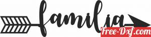 download Familia arrow sign free ready for cut