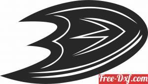 download Anaheim Ducks hockey nhl team logo free ready for cut