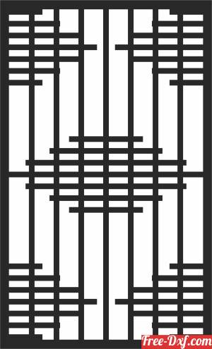 download DOOR   PATTERN   Decorative  WALL pattern   Wall  Decorative free ready for cut