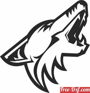download Arizona Coyotes hockey nhl team logo free ready for cut