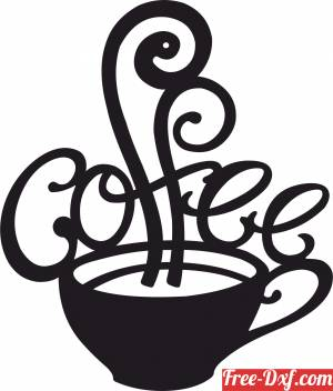 download coffee cup wall art free ready for cut