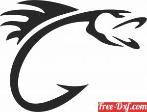 download Fish wall sign clipart free ready for cut